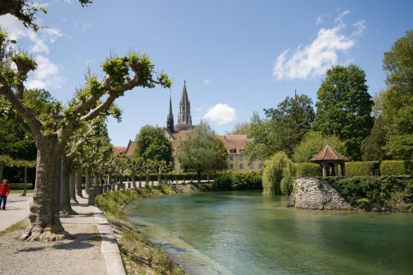 Sights in Konstanz Stadtgarten