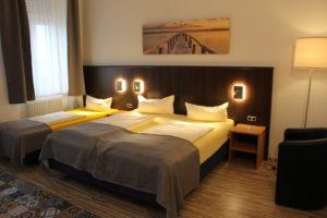 Unsere neuen Zimmer