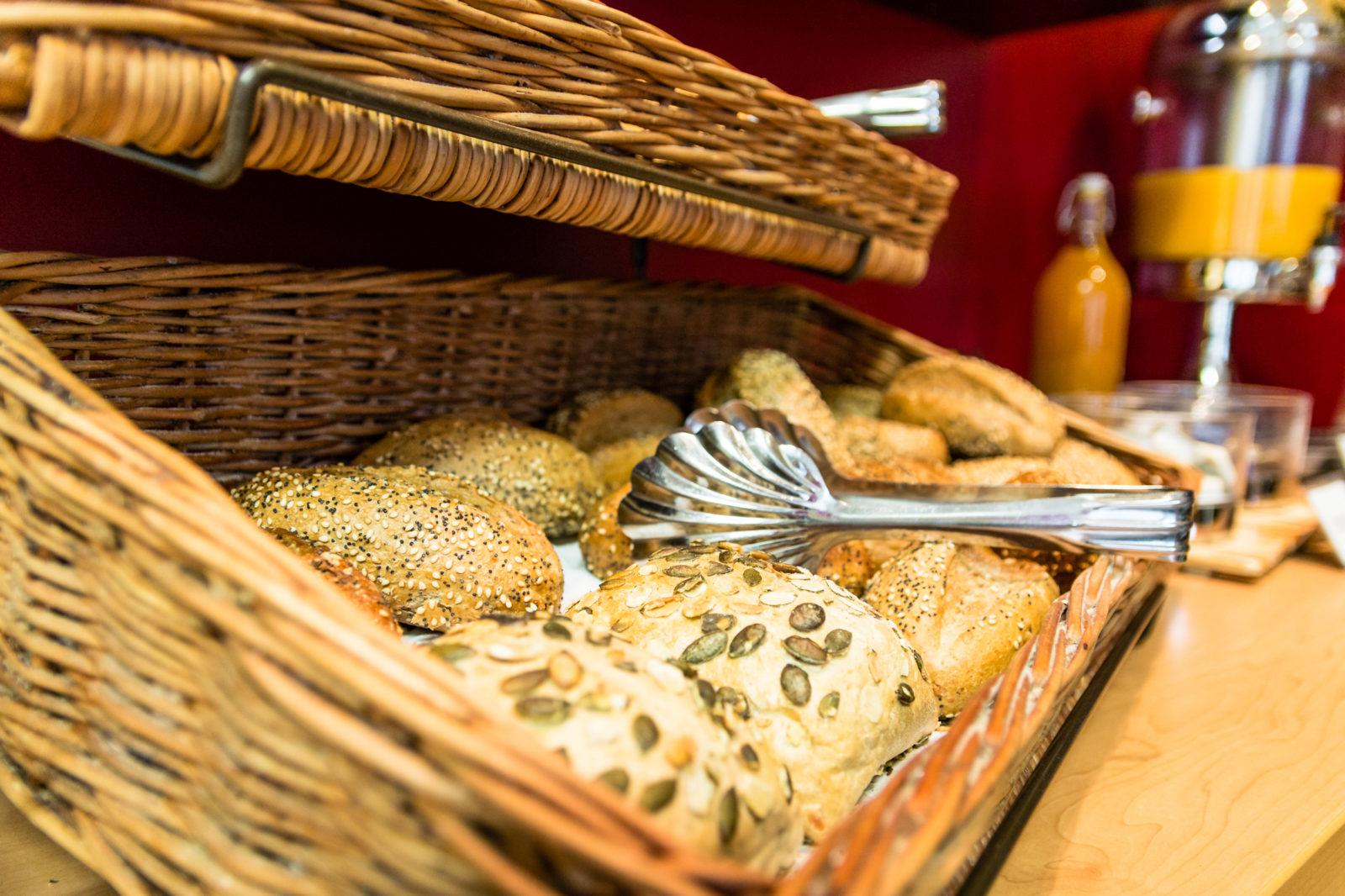 Frühstück im Gästehaus Centro